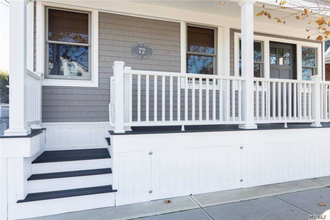 New front porch and entry