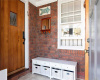 Mudroom with heat and A/C