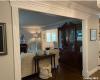 Foyer entering living room