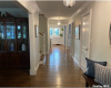 foyer hallway into den
